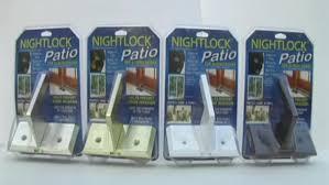 nightlock patio door lock for sliding doors