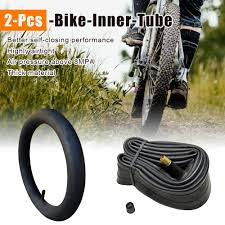 <b>2pcs bicycle tire durable</b> road bike inner tube16/18/20/22/24/26x1 ...