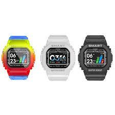 <b>K16 Smart Watch</b> Men Women IP68 Waterproof Heart Rate Monitor ...
