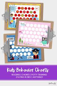 Kids Reward Chart Printables Kendra John Designs