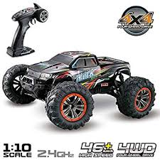 Hosim Large Size 1 10 Scale High Speed 46km H 4wd 2 4ghz Remote Control Truck 9125 Radio Controlled Off Road Rc Car Electronic Monster Truck R C Rtr