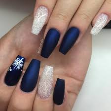 nail art excellent cute nail designs for winter pretty beautiful acrylic easy nails