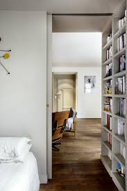 SmallSpace Ideas To Steal From A Tiny Paris Apartment - Small apartment bedroom