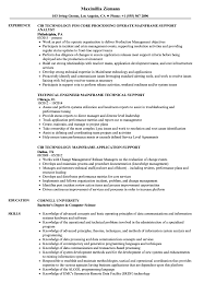 Sample Resume For Mainframe Production Support Mainframe Support Resume Samples Velvet Jobs 2