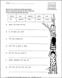 16 Best Images of Free Kindergarten Sentence Writing Worksheets ...