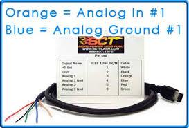 how to wire aem uego 30 4100 to sct tuner using analog cable 9608 Aem 35 8460 Wiring Diagram green analog input ground 2 AEM Wideband Gauge Wiring