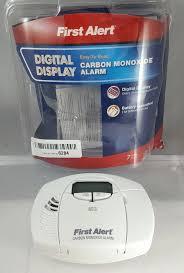 first alert co410 first alert carbon monoxide alarm digital display battery