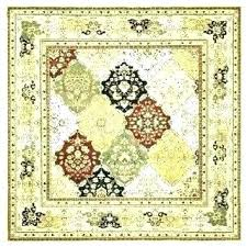 square area rugs amazing yellow rug ikea round