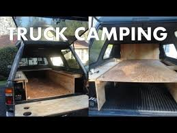 Pickup Truck Camping: Outfitting a Truck Canopy for Camping and ...