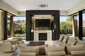 mounting tv above fireplace living room