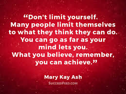 Mary Kay Quotes Magnificent 48 Motivational Mary Kay Ash Quotes Succeed Feed