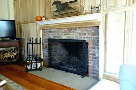 wood burning fireplace glass doors cleaning stove door pictures