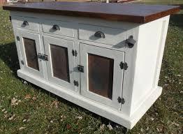 Antique White Kitchen Island Distressed Black Modern Rustic Kitchen Island Cart