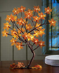 Lighted Fall Tree Decoration Fall Christmas Tree