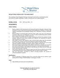 Radiologic Technologist Resume Samples Registered Radiologic Technologist Resume Httpresumesdesign 22