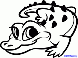 Small Picture Baby Alligator Coloring Page Free Printable Best Of Pages glumme