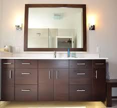 double floating vanity