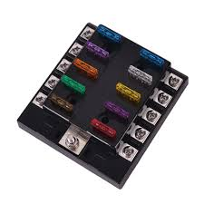 online buy whole car fuse box from car fuse box 32v 10 way fuse box 2a 3a 5a 7 5a 10a 15a 20a 25a 30a 35a