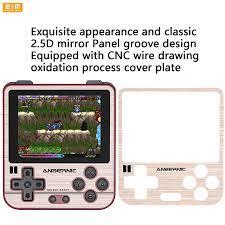 RG280V Mini Arcade oyun konsolu palmiye oyun makinesi IPS tam görünüm ekran  taşınabilir Retro nostalji el oyun 2100mA pil Integrated Circuits