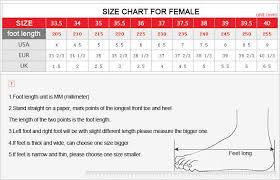 Asian Women S Size Chart Size Chart