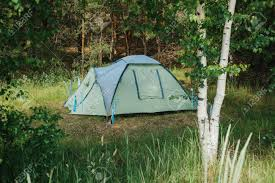 camping in the woods. Plain Woods Tourist Camp In The Woods Camping Stock Photo  94424058 Inside Camping In The Woods