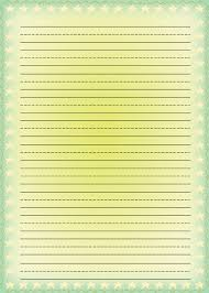 Lined Stationary Template Free Printable Stationery For Kids Free Lined Kids Writing Paper 17