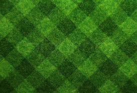 green grass soccer field. Green Grass Soccer Field Background, Stock Photo