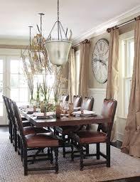 Elegant Dining Room Window Treatment Ideas