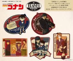 Detective Conan Travel Sticker (3) Akai Family (Anime Toy) Other picture1
