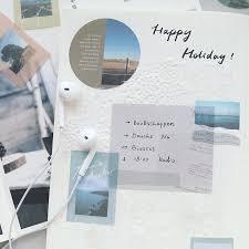 40 шт./упак. Kawaii милый пейзаж наклейка на крыше <b>дневник</b> ...