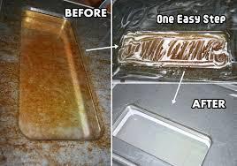 clean a greasy oven glass door