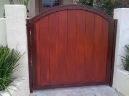 wood gate designs