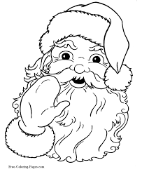 Small Picture Christmas Santa Coloring Pages GetColoringPagescom