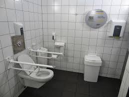 Bathroom Ideas Public Handicap Bathroom With Toilet And Navy - Handicap bathroom size