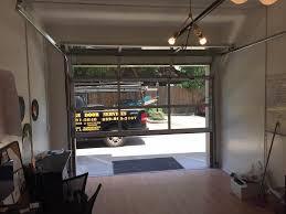 insulated glass garage doors. Exellent Doors Houston Contemporary Garage Doors  Woodlands Mdern Design Full View Glass  Door  LGA Service Inside Insulated