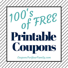 Free Print Coupons Free Printable Grocery Coupons Get Them Here