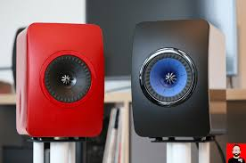 kef ls50 rear. in my listening tests, comparing the ls50 wireless to its passive forerunner dressed red and juiced by a peachtree nova300 (with internal dac) over kef ls50 rear