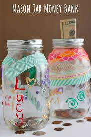 diy mason jar money bank kids craft