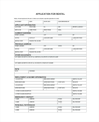 Sample Home Rental Agreement Sample Home Rent Application Form Lease Rental California – gamerates.co