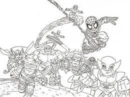 Small Picture hero squad coloring pages printable