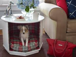 dog bed furniture. How To Make A Combination Pet Bed And End Table Dog Furniture