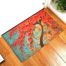 washable kitchen rugs throw turquoise amazing with rubber b decorations turquoise kitchen floor