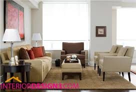 casual contemporary living room design photo 1