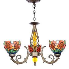 color glass chandelier multi colored murano glass chandelier