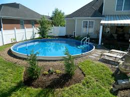 In ground pools Simple Semiinground Pool Galaxy Home Recreation Alpine Pools Western Pennsylvanias Pool And Spa Dealer Semi