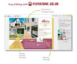 design and print flyers and leaflets for estate agents the right design for you