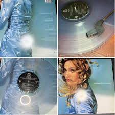 Madonna Ray Of Light Vinyl Clear My Favorite Christmas Present Ray Of Light On Limited