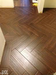 herringbone tile floor diyshowoff herringbone tile floor diyshowoff
