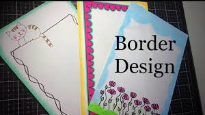 Assignment Front Page Border Designs Simple Paper Borders Assignment Front Page Design Border