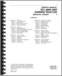 john deere 112 lawn garden tractor service manual tractor manual tractor manual tractor manual